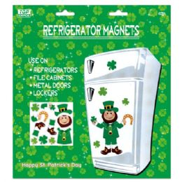 96 Units of St. Patrick Fridge Magnets - St. Patricks