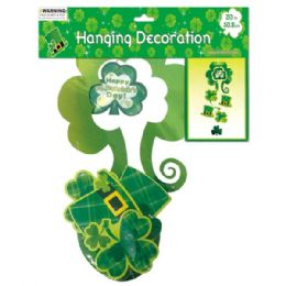 96 Units of St.patrick hanging decor - St. Patricks