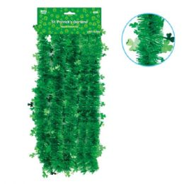 108 Units of Shamrock garland - St. Patricks