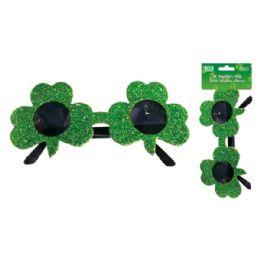 96 Units of Shamrock glasses - St. Patricks