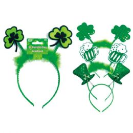 96 Units of St.patrick's headband - St. Patricks