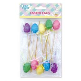 108 Units of 10 Count Easter Egg Pick - Easter