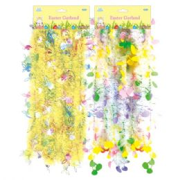 96 Units of 10 Ft Easter Garland - Easter
