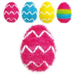 108 Units of Easter Tinsel Egg - Easter