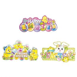 144 Units of Nineteen Inch Easter Three D Cutout - Easter