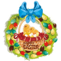 96 Units of Easter Cutout - Easter