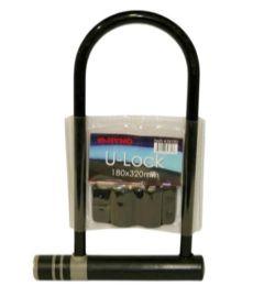 12 Units of 32 Inch High Security Cable U Bar Lock - Biking