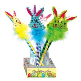 96 Units of Ball Pen With Bunny - Easter