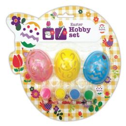 96 Units of Egg Painting Set - Easter