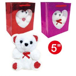 96 Units of Five Bear In Window Bag - Mothers Day