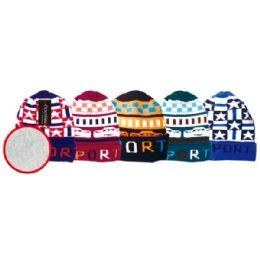 72 Units of Kid's hat fleece lined - Junior / Kids Winter Hats
