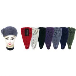 60 Units of Knit Head Band - Ear Warmers
