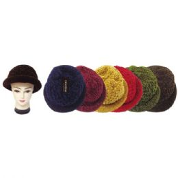 60 Units of Lady's winter hat In Assorted Color - Winter Beanie Hats