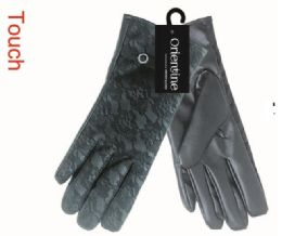 48 Units of Lady's touch gloves man made leather - Leather Gloves