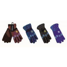 48 Units of Men Winter Ski Glove - Ski Gloves