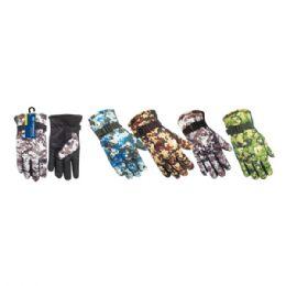 72 Units of Men's ski army gloves - Ski Gloves