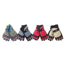 24 Units of Men's ski gloves - Ski Gloves