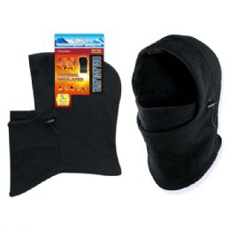 48 Units of Thermal Insulated Ski Hat Black - Winter Hats