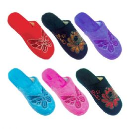 36 Units of Lady's winter slippers size 5-10 - Women's Slippers