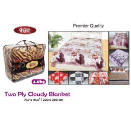 "7 Units of 4kg 2-Ply cloudy blanket/Queen 87x94.5""/200x240cm - Comforters & Bed Sets"