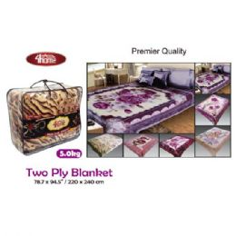 "6 Units of 5kg 2-Ply blanket/King 75x91""/190x230cm - Comforters & Bed Sets"