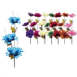 """48 Units of 37""""-3 Heads flower - Artificial Flowers"""