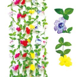 48 Units of 6.5ft Flower vane - Artificial Flowers