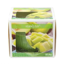 72 Units of Melon candle 3oz - Candles & Accessories