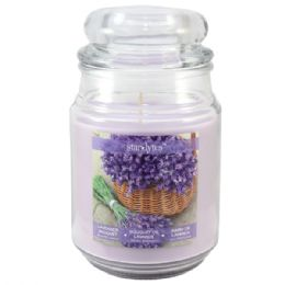 72 Units of Lavender with top candle 3oz - Candles & Accessories