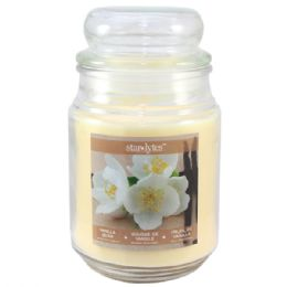 24 Units of Vanilla candle 18oz - Candles & Accessories