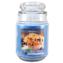 24 Units of Blueberry candle 18oz - Candles & Accessories