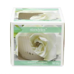 72 Units of Gardenia candle 3oz - Candles & Accessories