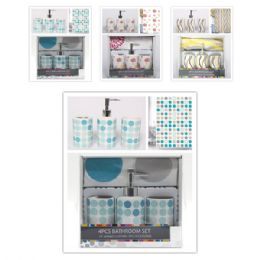 12 Units of Four Pece bathroom set - Bathroom Accessories