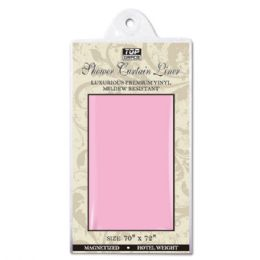48 Units of Shower curtain 70x72/pink - Shower Curtain