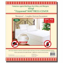 24 Units of Zipped Mattress Cover King - Bed Sheet Sets