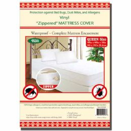 24 Units of Zipped mattress cover Queen - Bed Sheet Sets