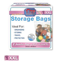 96 Units of Storage bag 2XL/1 count - Storage Holders and Organizers