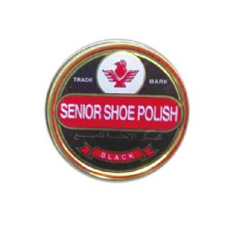 96 Units of Shoes Polish/black - Footwear Accessories