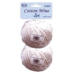 96 Units of Cotton twine - Rope and Twine