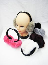 48 Units of Womans Fashion Ear Muffs - Assorted Colors - Ear Warmers