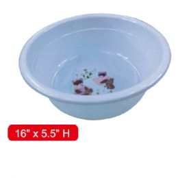 "48 Units of Extra deep basin 16x5.5""h - Buckets & Basins"