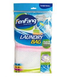 96 Units of Washing bag With Zipper - Laundry  Supplies