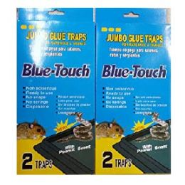 48 Units of Blue Touch Jumbo Trap 2 Count - Home Accessories