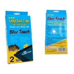 96 Units of Blue Touch Large Trap 2 Count - Home Accessories