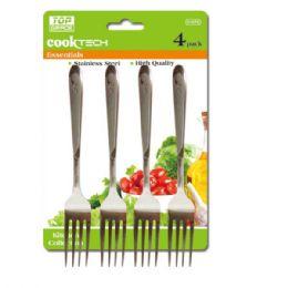 96 Units of 4 Piece Forks - Kitchen Utensils