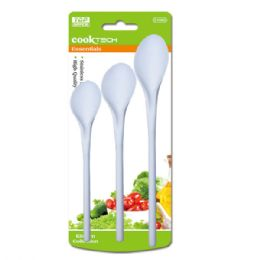 72 Units of 3 Piece Mix Spoon - Kitchen Utensils
