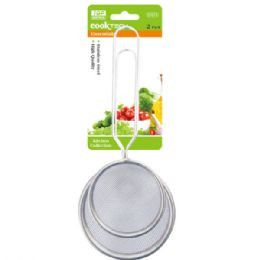 96 Units of Two Piece Strainer With Handle - Kitchen Gadgets & Tools