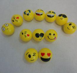 "72 Units of 3"" Small Emoji Squish Ball - Balls"