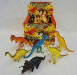 48 Units of Large Plastic Dinosaur - Animals & Reptiles