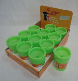 60 Units of Large Glow-In-The-Dark Butt Bucket - Ashtrays